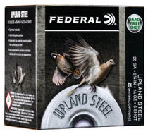 "Federal Upland Steel 20 Ga, 2.75"", 7/8 oz, Steel, 25rd/Box"