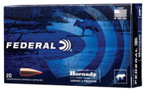 Federal Varmint & Predator 6.5 Creedmoor 95gr, Hornady V-Max (VMX), 20rd/Box