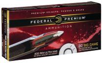 Federal Vital-Shok 300 Rem Ultra Mag (RUM) 180gr Nosler Acc, 20rd/Box
