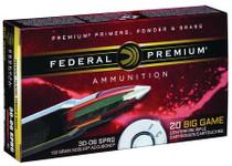 Federal Vital-Shok 30-06 Springfield 150gr, Nosler AccuBond, 20rd/Box