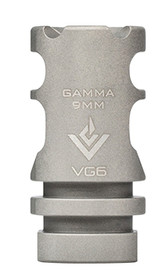 Aero Precision VG6 Gamma Brake 9mm Bead Blasted Stainless Steel