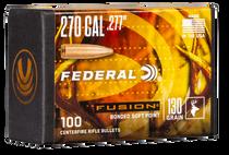 Federal Bullets .277 130gr, fus, 100rd