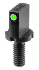 Truglo TG231AR1, Front Sight Post, Green Tritium/White Outline
