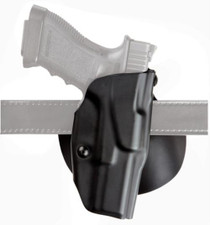 Bianchi 6378 Safariland ALS Concealment Paddle Holster Glock 17/22 4.5 Inch Barrel Stx Plain Black Right Hand