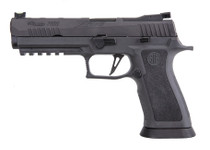 "Sig P320 XFIVE Legion 9mm, 5"" Bull Barrel, Dawson Precision Sights, Gray, 17rd Mag"