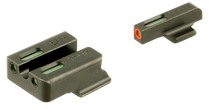 Truglo TFX PRO Ruger American, Tritium/Fiber Optic, Steel Green