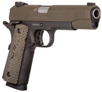 "Taurus 1911, .45 ACP, 5"" Barrel, 8rd, Brown CZ Grip, OD Green"