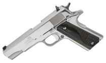 "Iver Johnson 1911 A1 Government, .38 Super, 5"" Barrel, 9rd, Diamondwood Grip, Stainless"