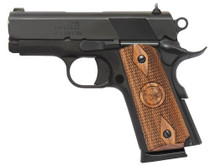 "Iver Johnson 1911 Thrasher Office, .45 ACP, 3.1"" Barrel, 7rd, Black"