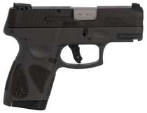 "Taurus G2S, 9mm, 3.26"" Barrel, 7rd, Black Slide, Gray Frame"