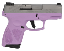 "Taurus G2S, 9mm, 3.26"" Barrel, 7rd, Stainless Slide, Purple"