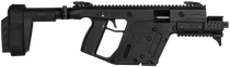 "Kriss USA Vector Gen II SDP SB AR Pistol, 10mm, 6.5"", 15rd, Black"