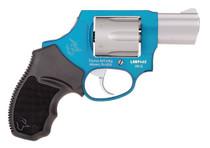 "Taurus 856 Ultra Lite Concealed Hammer, .38 Spl +P, 2"", 6rd, Azure Blue"