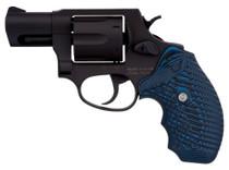 "Taurus 856, .38 Spl, 2"" Barrel, 6rd, Blue Cyclone Grip, Black"