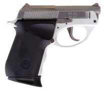 "Taurus PT22, Sub-Compact, 22 LR, 2.8"" Barrel, Polymer Frame, White/Stainless Finish, 8Rd, 1 Magazine"