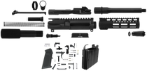 "TacFire 9mm Pistol Build Kit LPK, 7.5"" Barrel Black Nitride, Exclusive"