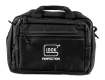 Glock OEM Double Pistol Case, Padded Compartments, Black