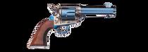 """Uberti 1873 Cattleman Artillery, . 45 Colt, 5.5"""" Barrel, 6rd, Walnut, Charcoal Blue"""