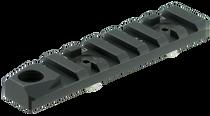 Strike Accessory Rail with QD For AR 1-Piece Style Black Hard Coat