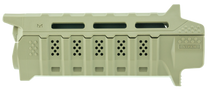 Strike Viper AR Rifle Handguard Polymer Flat Dark Earth, Black Ins