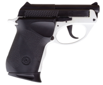 "Taurus PT22, .22 LR, 2.8"" Barrel, 8rd, DAO, Black Slide, White"