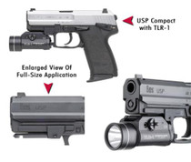 GG&G HK USP Flashlight Adapter-Compact