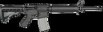 "Rock River Arms LAR-15 Elite CAR A4 .223 Rem/5.56mm, 16""Chrome Lined Barrel, 6-Position Black Stock, Black, 30rd"