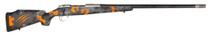 "Fierce CT EDGE .300 PRC, 24"" Carbon Barrel, Carbon Stock /w Orange Accent, 4rd"