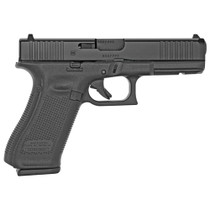 "Glock 17 Gen5 Full Size 9MM 4.49"" Marksman Barrel, Fixed Sights, Ambi Slide Stop Lever, Flared Mag Well, Front Serrations 3x 17rd Mags"