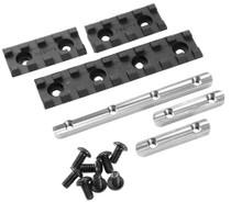 "Samson Evolution Rail Kit 2"" (2 Rails) 2"" 6061-T6 Anodized Alum Black"