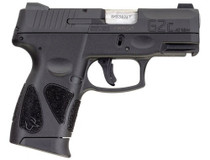 "Taurus G2c .40 S&W, 3.2"" Barrel, 3-Dot Sights, Black Carbon Steel Slide, 10rd"