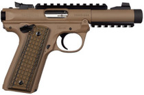 "Ruger Mark IV .22 LR, 4.4"" Barrel, Zytel Polymer Grips, Flat Dark Earth, 10rd"