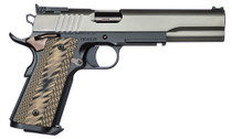 "Dan Wesson Kodiak 10mm, 6.03"" Barrel, Brown G10 Grips, Duty Finish Stainless Steel Slide, 8rd"