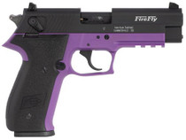 "GSG FireFly .22 LR, 4"" Barrel, Purple Zinc Alloy Overmolded Frame, Black Slide, 10rd"