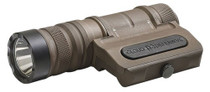 CLD Owl, Optimized Weapon Light, Flat Dark Earth Aluminum, 1250 Lumens, Ambidextrous, Fits Any Picatinny Rail, Quick-Disconnect Light Head And Tail-cap, Includes Battery And Charger