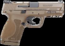 """Smith & Wesson M&P9C M2.0 9mm, 4"""" Barrel, NTS Flat Dark Earth, 15rd"""