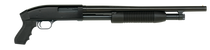 "Maverick 88 12 Ga, 20"" Barrel, Cyl, Pistol Grip, Cruiser, Black, 7rd"