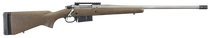 """Ruger Hawkeye LR HNT 6.5 PRC, 22"""" Barrel, Black/Brown Laminated, 3rd"""