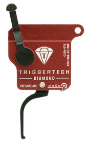 TriggerTech Diamond without Bolt Release Remington 700 Single-Stage Flat 0.30-2.00 lbs