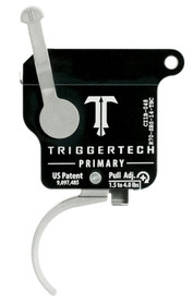 TriggerTech Primary with Bolt Release, Remington 700, Single-Stage, Traditional Curved, 1.50-4.00 lbs
