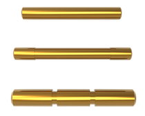 Cross Armory 3 Pin Set Compatible with Glock Gen1-3 Steel Gold