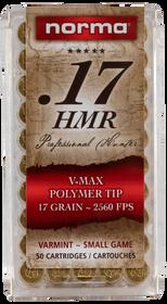 Norma 17HMR VMAX 17gr, 50rd/Box