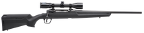 "Savage Axis II Compact, Bolt Action, 350 Legend, 18"" Barrel, Black Color, Black Polymer Stock, Right Hand, 4Rd, Detachable Box Magazine"