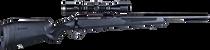 """Savage 110 Apex Hunter XP 350 Legend, 18"""" Barrel, 3-9x40mm, Black, 4rd"""
