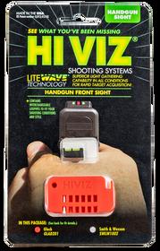 Hiviz Litewave Front Site Glocks Except 42/43, Red Green White