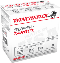Winchester Super-Target 6.5 Creedmoor 125gr, Open Tip, VP, 60rd/Box