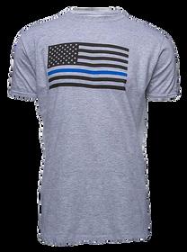 Glock Discipline/Valor T-Shirt Grey Lrg
