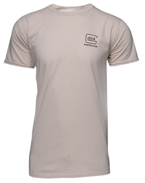 Glock OEM 2A Short Sleeve Shirt, Size XXXLarge, Cream