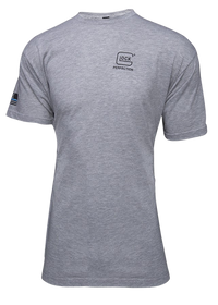Glock We Got Your Six Grey T-Shirt Lrg