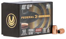 Federal Bullets .400 180gr 40SW/10mm, HS, 50rd/Box